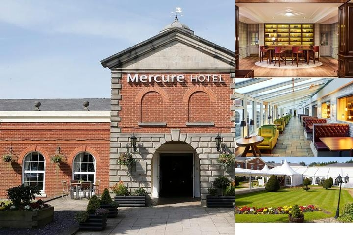 Mercure Haydock Hotels photo collage