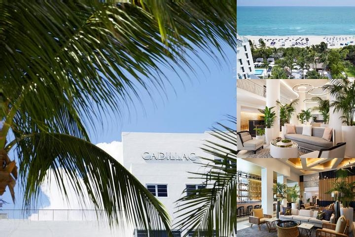 Courtyard Cadillac Miami Beach Oceanfront photo collage