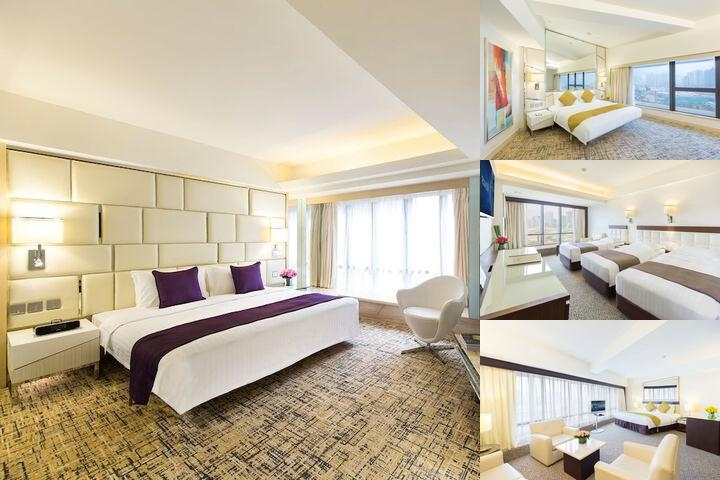 Regal Oriental Hotel Hong Kong photo collage