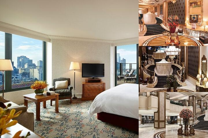 The Langham Melbourne photo collage