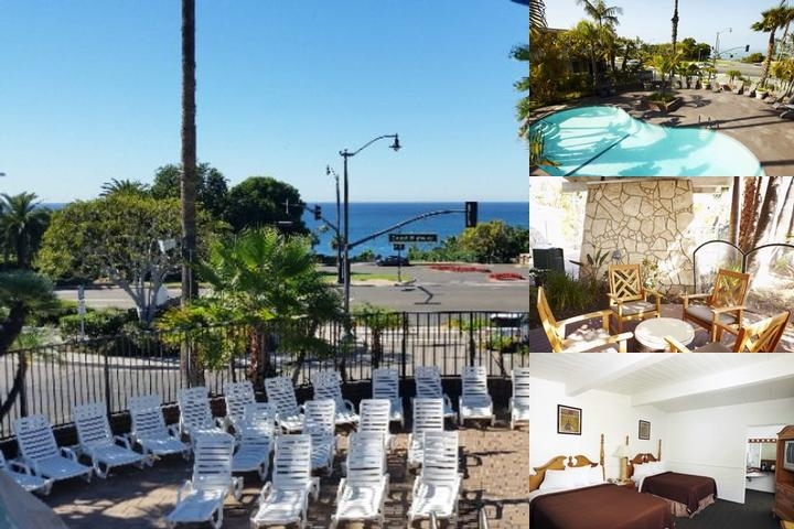 Laguna Beach Lodge photo collage