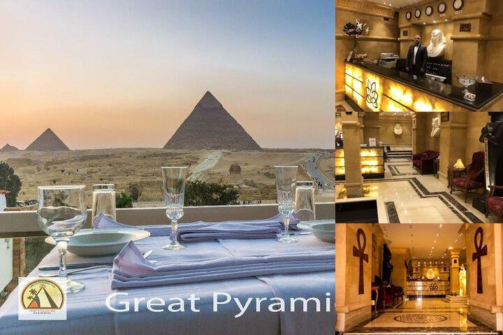 Great Pyramid Inn photo collage