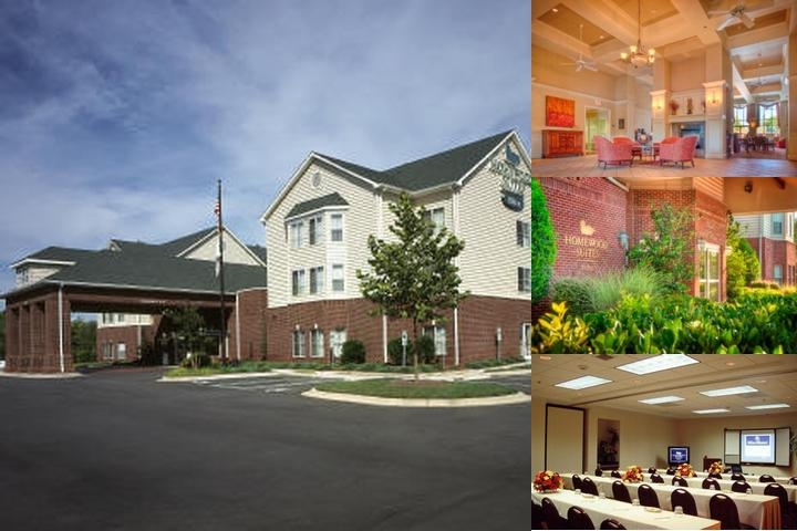Homewood Suites by Hilton Charlotte Airport photo collage