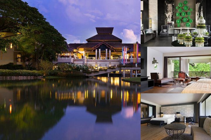 Le Meridien Chiang Rai Resort Thailand photo collage