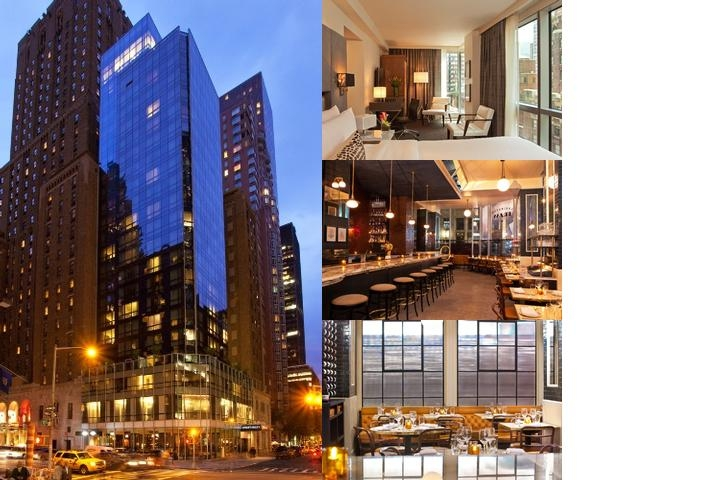 Hotel 48lex New York photo collage
