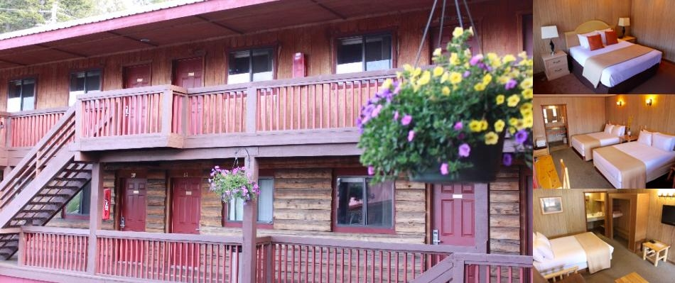 Rustic Inn Mccall photo collage