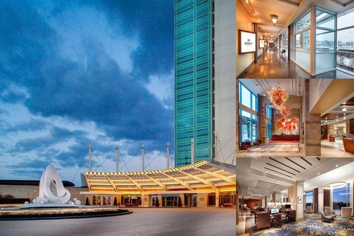 Hilton Lac Leamy photo collage