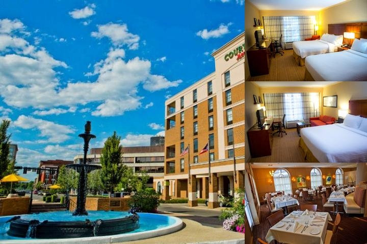 Courtyard by Marriott Springfield Downtown photo collage