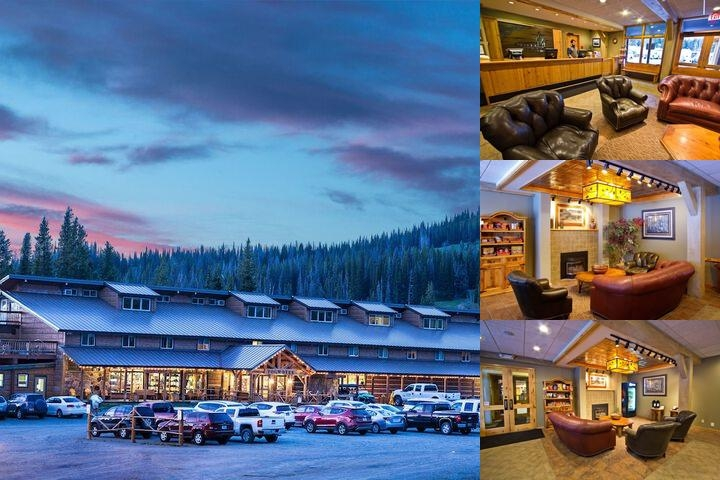 Togwotee Mountain Lodge photo collage