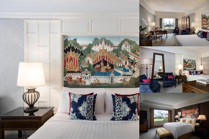 Anantara Siam Bangkok Hotel photo collage