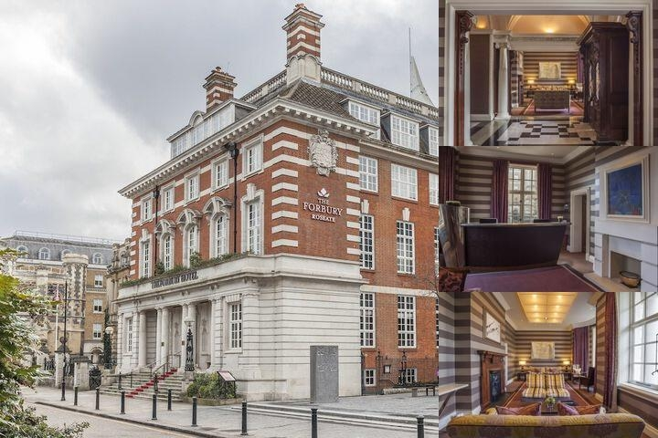 The Forbury Hotel photo collage