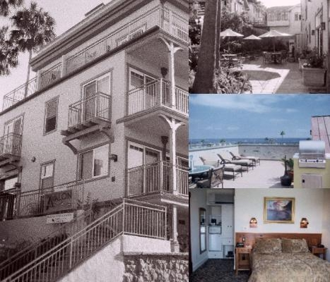 The Avalon Hotel photo collage