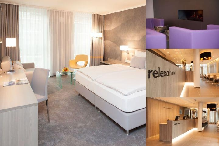 Relexa Hotel München photo collage