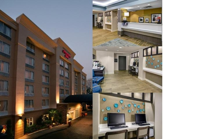 Hampton Inn Atlanta Georgia Tech photo collage