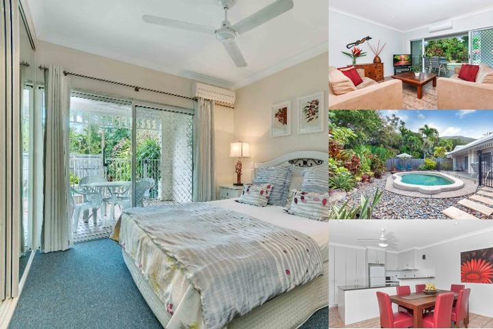 Palmcove Villa photo collage