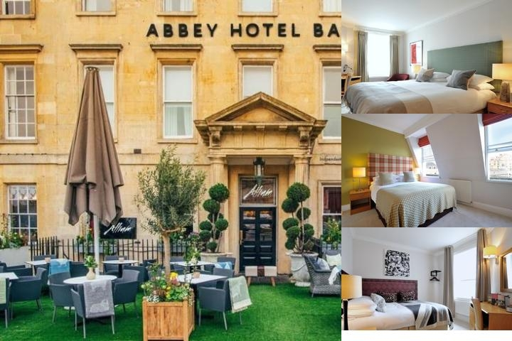 Abbey Hotel photo collage