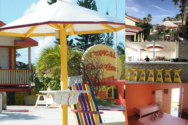Tropical Paradise Hotel photo collage