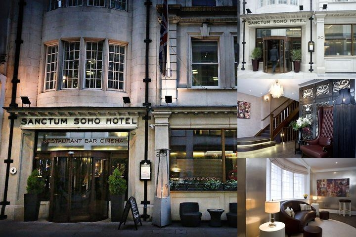 Sanctum Soho Hotel photo collage