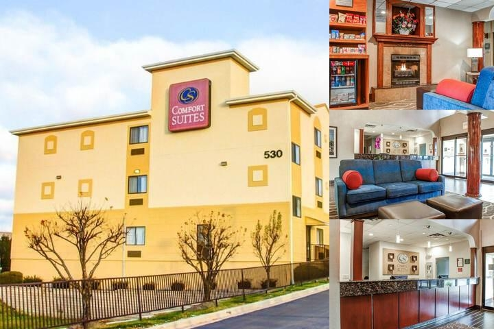 Comfort Suites Lombard photo collage