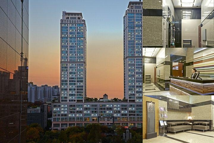Brown Suites Serviced Residence photo collage