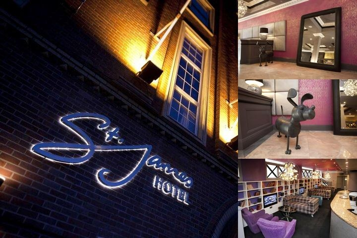 St. James Hotel photo collage