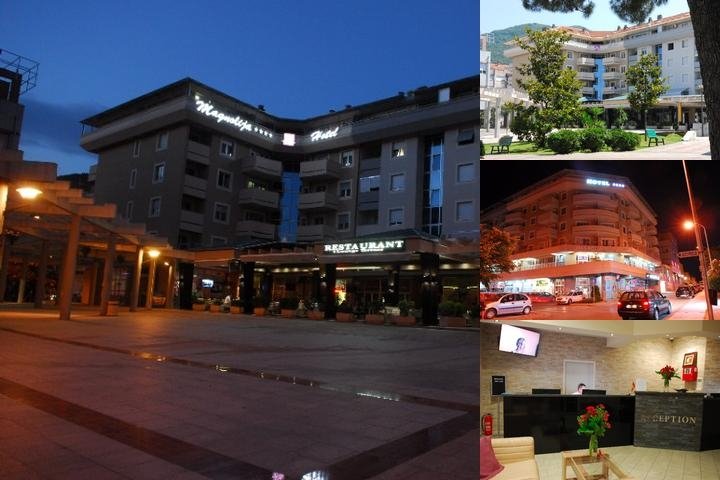 Hotel Magnolia Tivat photo collage