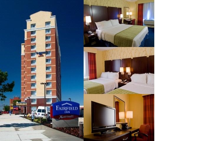 Fairfield Inn New York Long Island City / Manhatta photo collage