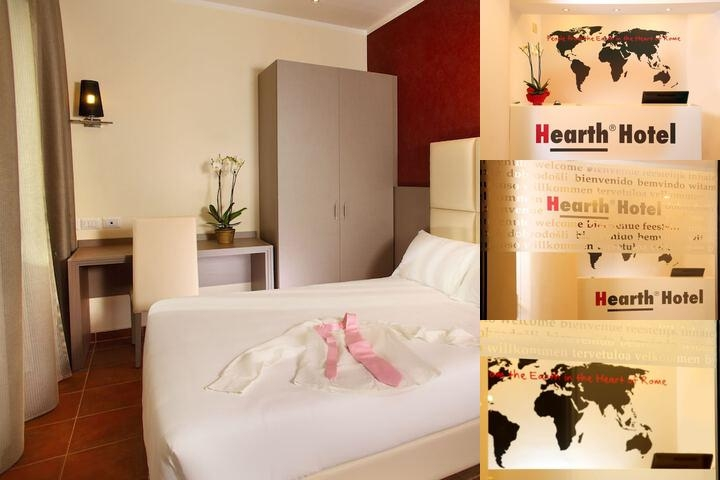 Hearth Hotel photo collage