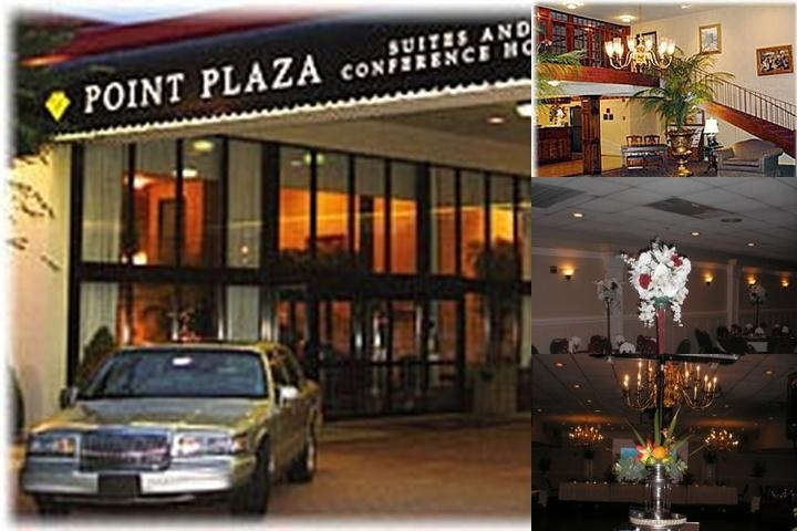 Point Plaza Suites at City Center photo collage