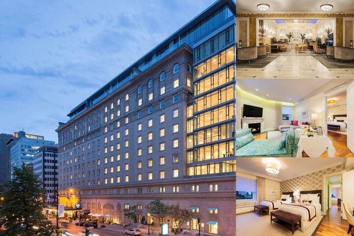 Ritz Carlton Montreal photo collage