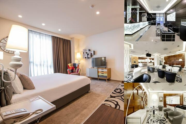 Opera Suite Hotel photo collage