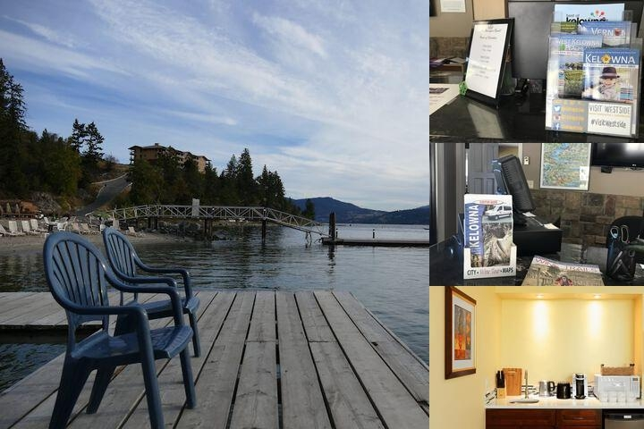 Lake Okanagan Resort photo collage