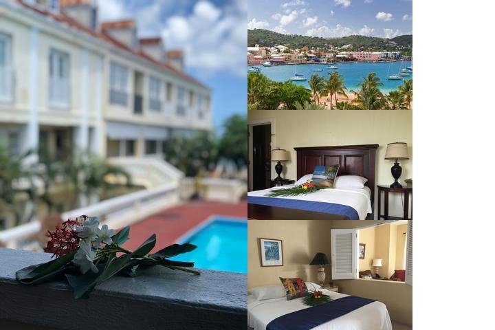 Club Comanche Hotel St. Croix photo collage