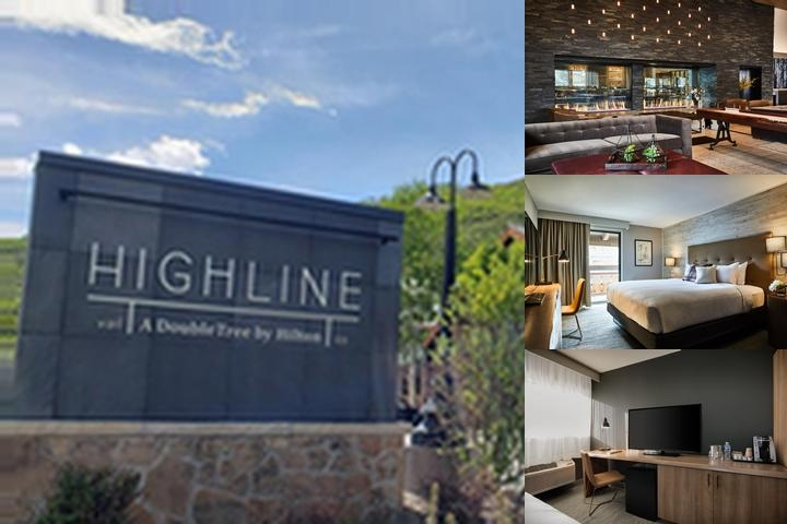 Doubletree by Hilton Vail photo collage