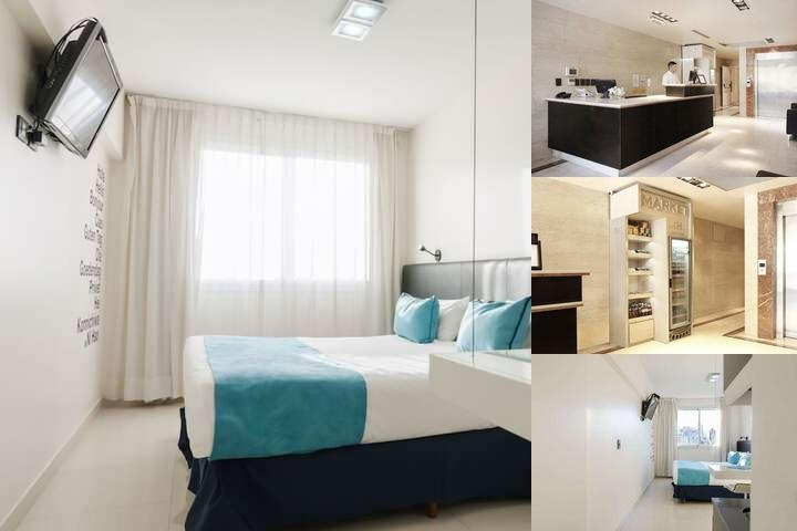 Cyan Recoleta Hotel photo collage