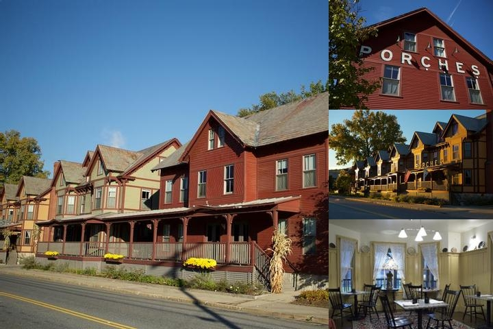 The Porches Inn at Mass Moca photo collage