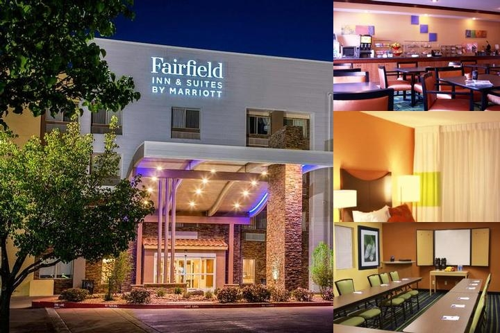 Fairfield Inn & Suites Albuquerque Airport photo collage