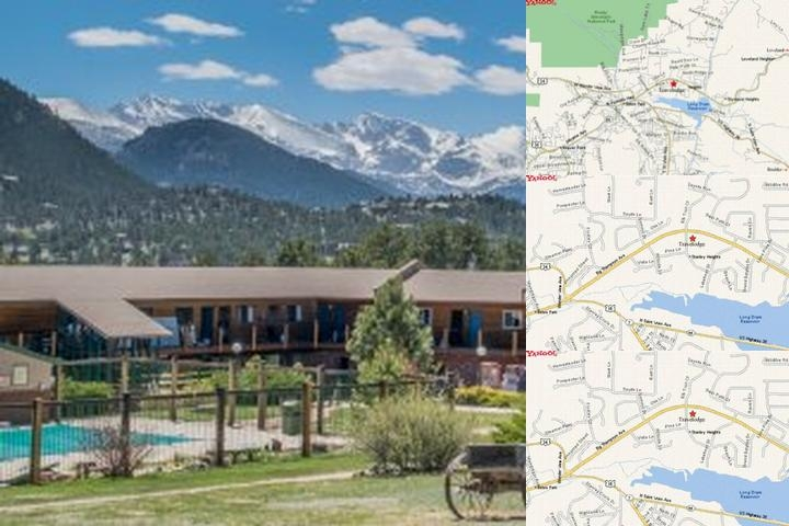Travelodge Inn & Suite Estes Park photo collage
