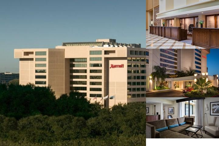Houston Marriott Westchase photo collage