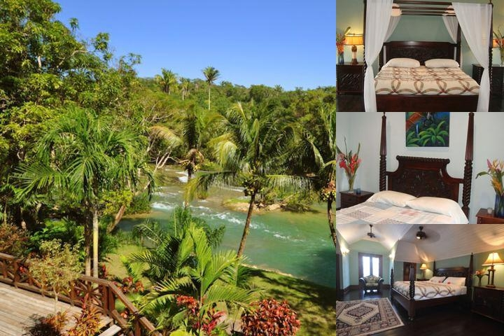 Mahogany Hall Boutique Resort photo collage