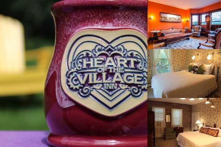 Heart of The Village Inn photo collage