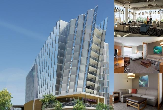 Hyatt Place Edmonton / Downtown photo collage