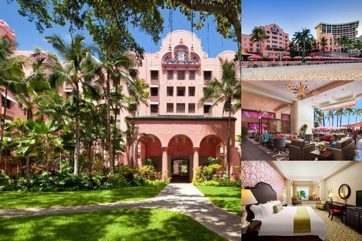The Royal Hawaiian a Luxury Collection Resort photo collage