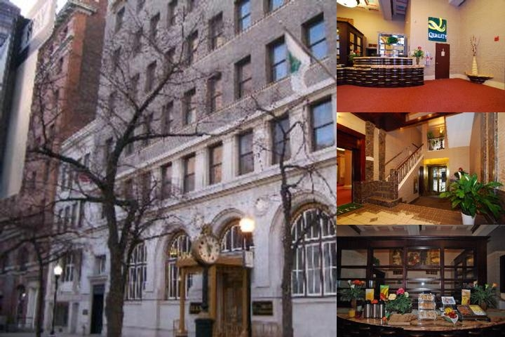 Baltimore Plaza Hotel photo collage
