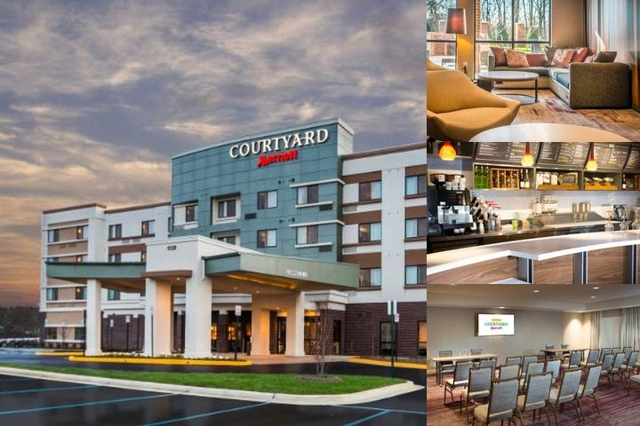 Courtyard by Marriott Largo Capital Beltway photo collage