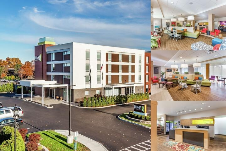 Home2 Suites by Hilton Albany Airport Wolf Road photo collage
