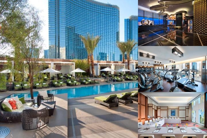 Mandarin Oriental Las Vegas photo collage
