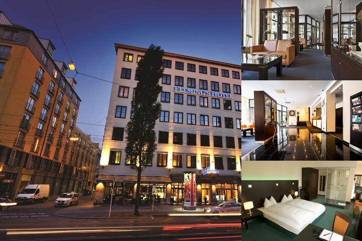 Fleming's Hotel München City photo collage