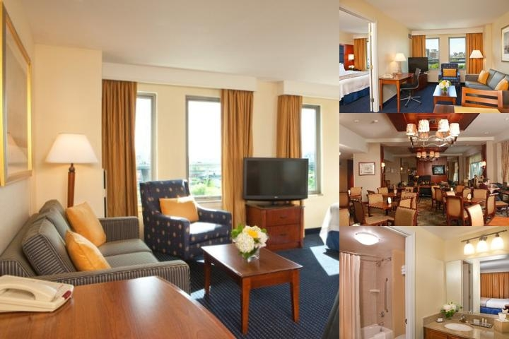 Tudor Wharf Marriott Residence Inn photo collage