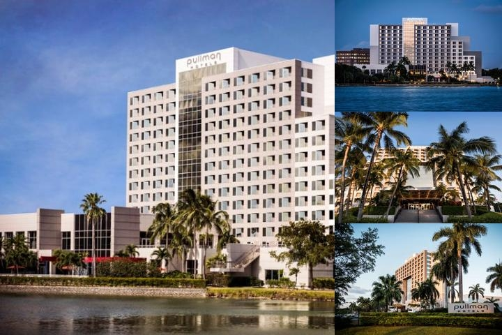 Pullman Hotel Miami photo collage